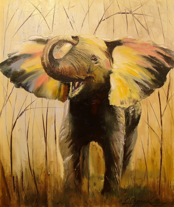 Elephant - Olha Darchuk