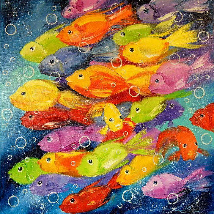 Fish, - Olha Darchuk