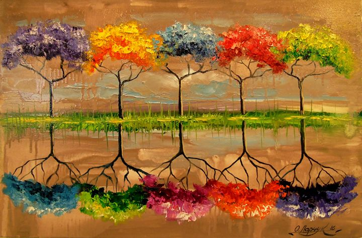Each tree by its smell - Olha Darchuk
