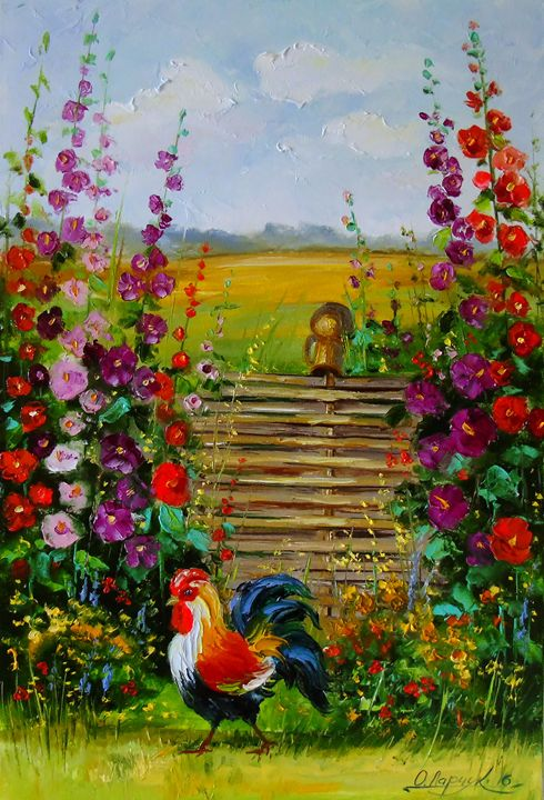 The owner of the farm - Olha Darchuk
