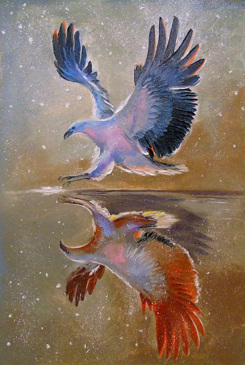 eagle hunting - Olha Darchuk