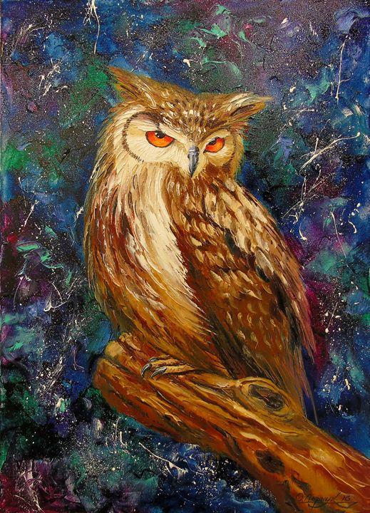 Wise owl - Olha Darchuk