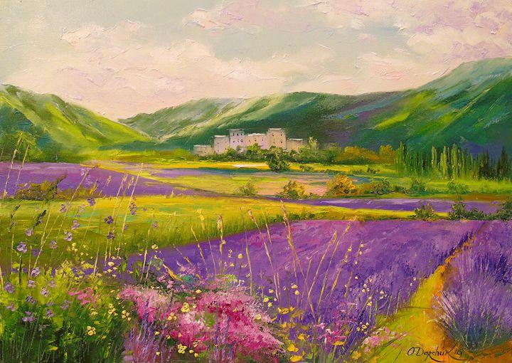 Lavender fields landscape - Olha Darchuk
