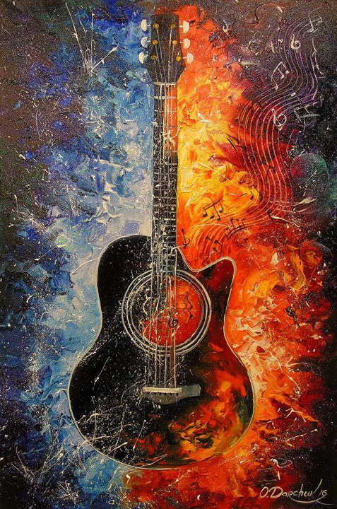 The rhythms of the guitar - Olha Darchuk