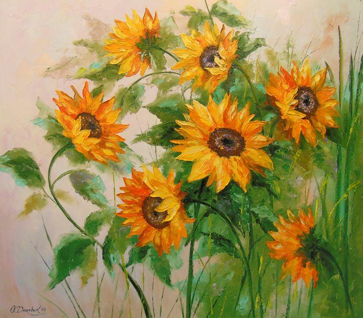 Sunflowers - Olha Darchuk