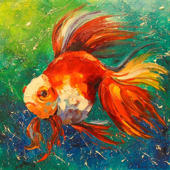 Gold fish - Olha Darchuk