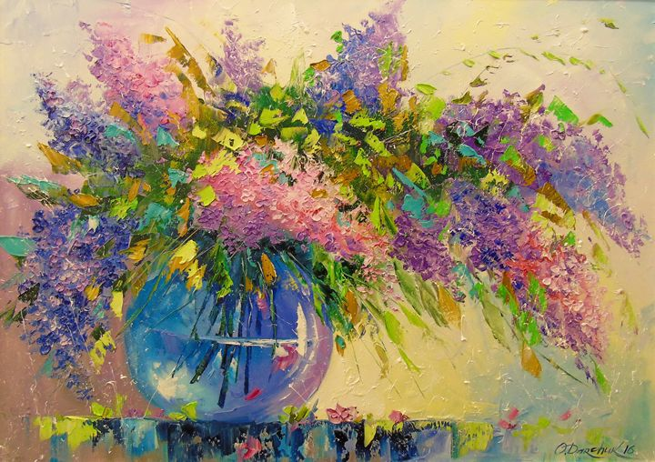 Bouquet of lilac - Olha Darchuk