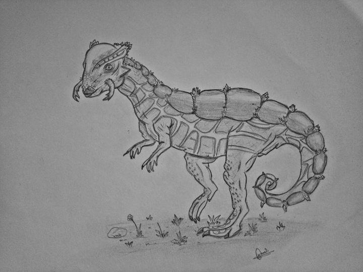 dinosaur - Kiran jung shah