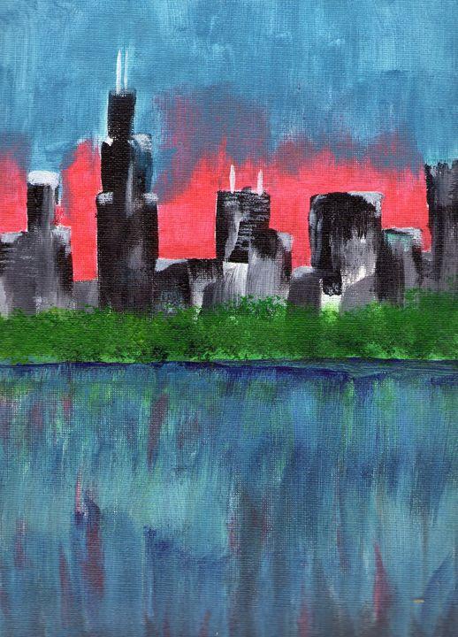 Downtown Chicago  A Night Away - Kierra Morgan's Gallery