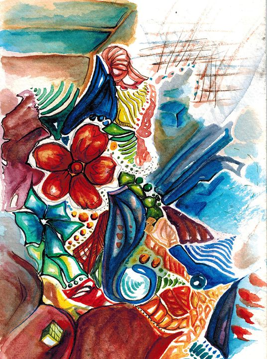 Burst of Consciousness - Rebecca Mullins Artwork