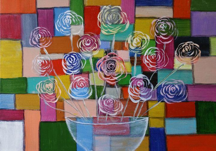 Rose Vase - Abid Jaffri