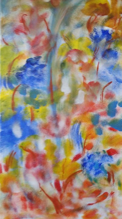 Floral Abstract - Abid Jaffri