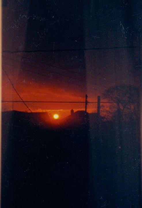 Sunset in my window - jj1