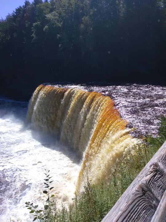 waterfall in Michigan - jj1