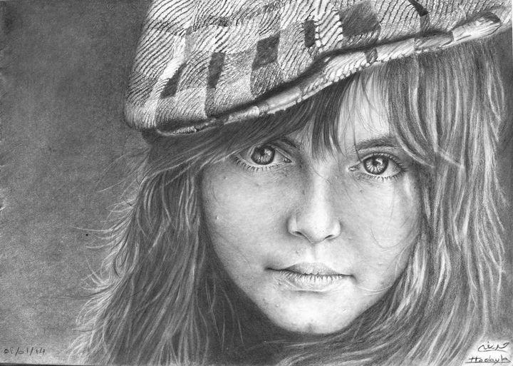 The Look of the Youth - Houdaifa PENCIL ART