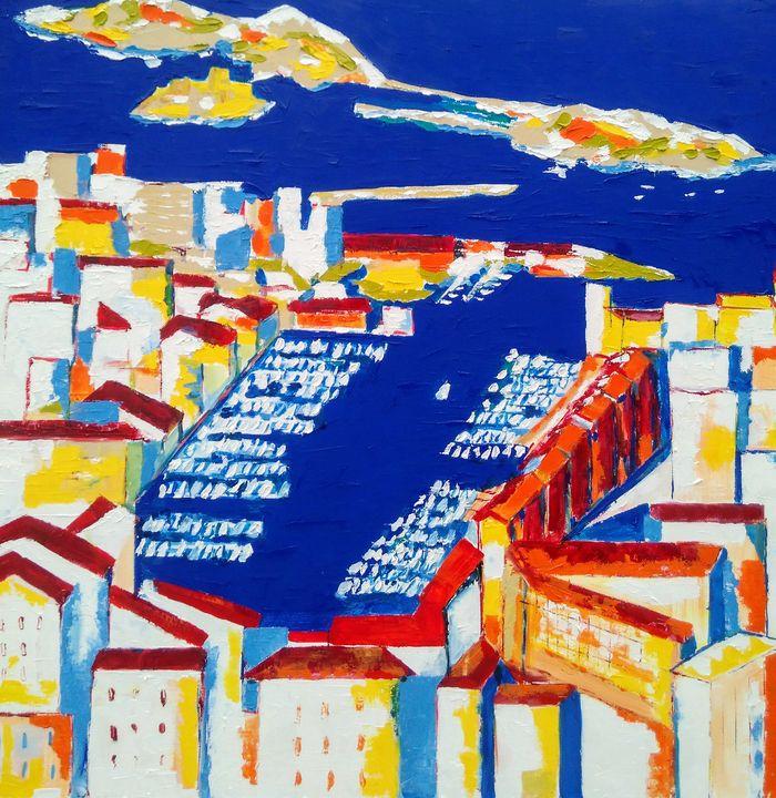 Marseille les îles - Sophie Delavague