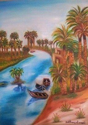 The Tigris - Muthanna Al Ameri Artist