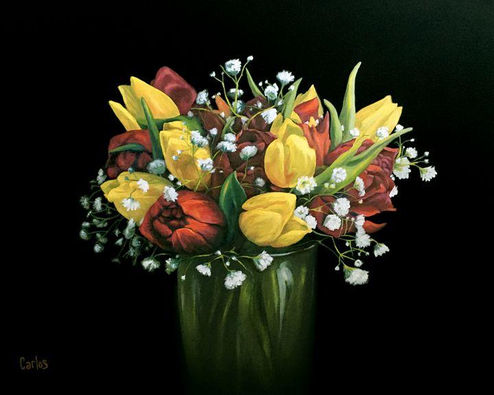 Easter Flowers - Valley Dreams