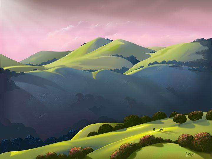 Mt. Hamilton Range - Valley Dreams
