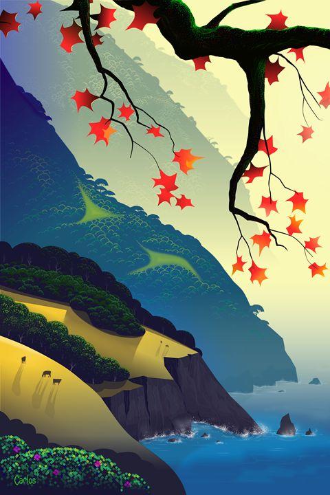 Water Way-Left Side - Valley Dreams