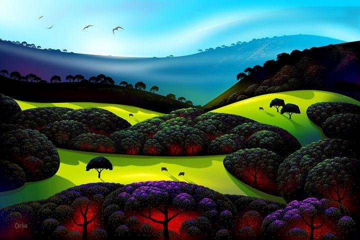 Morning Mist - Valley Dreams