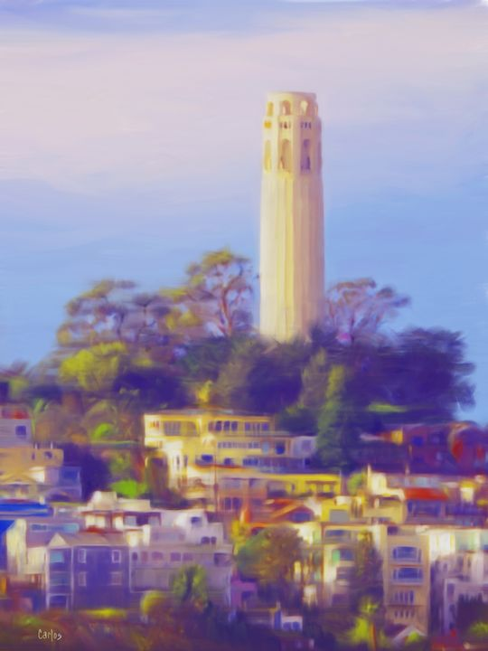 Coit Tower - Valley Dreams