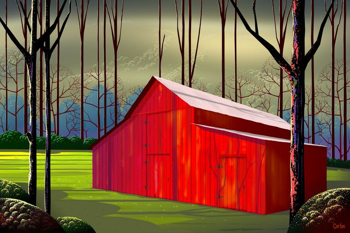 The Red Barn - Valley Dreams
