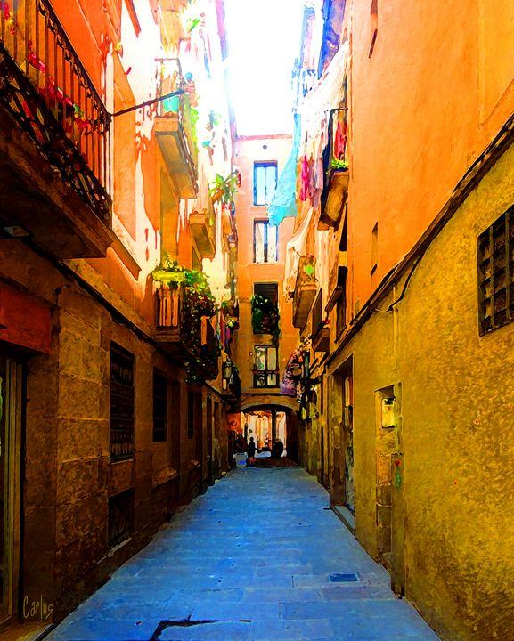 Barcelona Alley - Valley Dreams