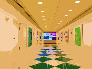 Hall way Decoration