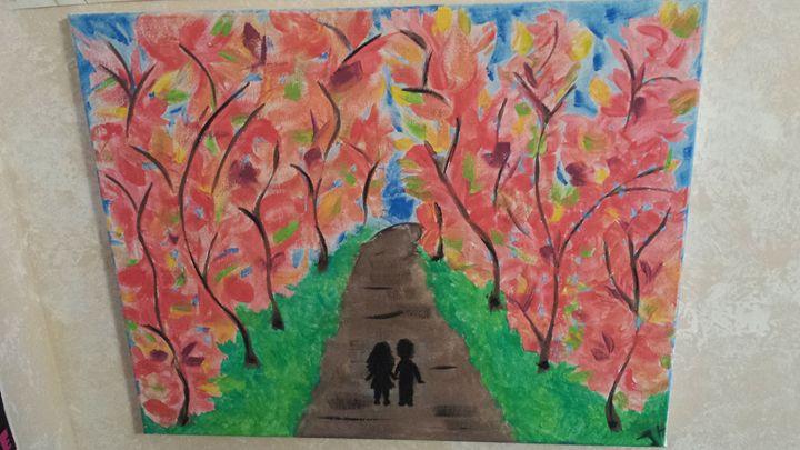 Pink leaves - JEJEBE