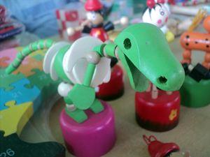 the grumpy T-rex ....