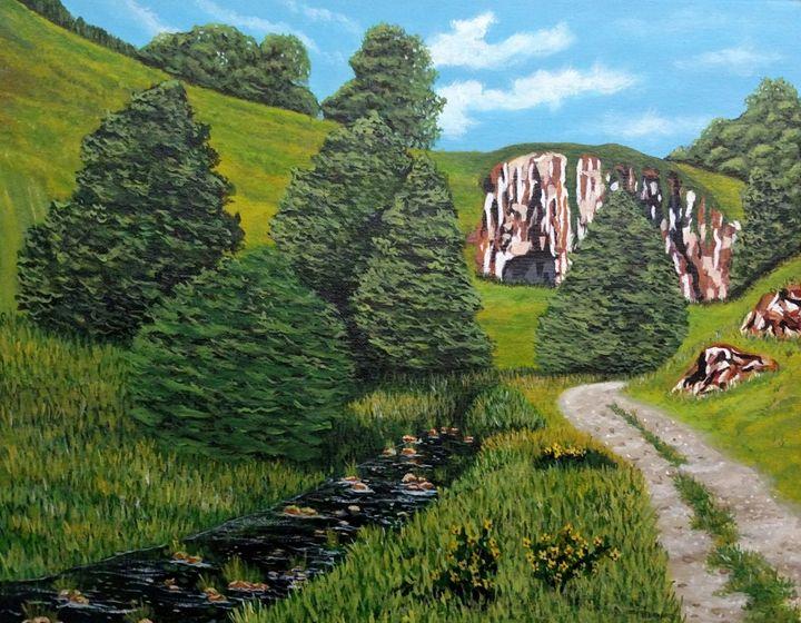 England Cliffs - Kim Castor
