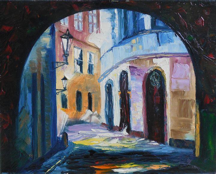 Under the walkway - Kim Castor