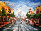 Main Street USA Painting