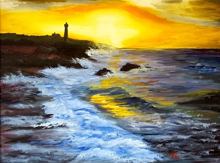 Lighthouse Sunset - Travis Lefelhoc