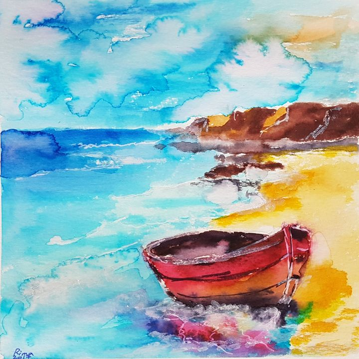 Sea magic - Art_by_rima