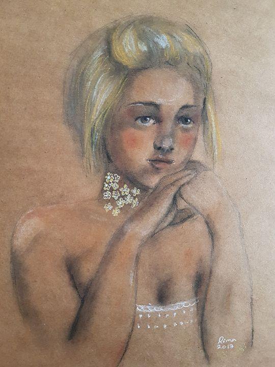 Sweet Amber - Art_by_rima