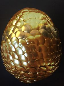 Golden Dragon Egg - Unsafe Midget's Gallery