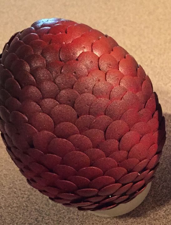 Fire Dragon Egg - Unsafe Midget's Gallery