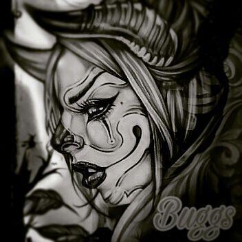 Gothic devil clown - BUGGS