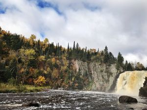 High Falls in Autumn
