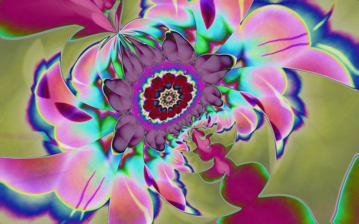 Flower of Faith - Libelle