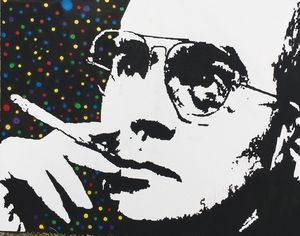 Hunter S Thompson Smoking - Negus215