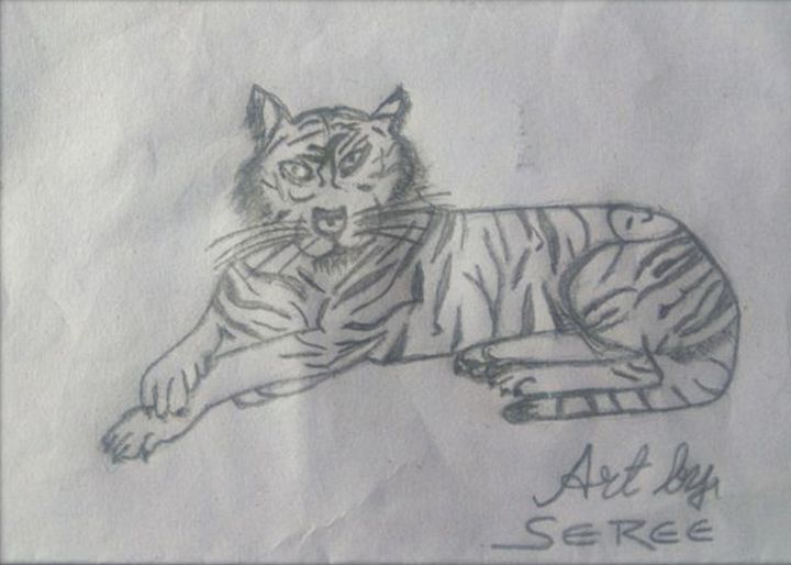 Life of Person Inside Tiger - Sreedhar (seree)