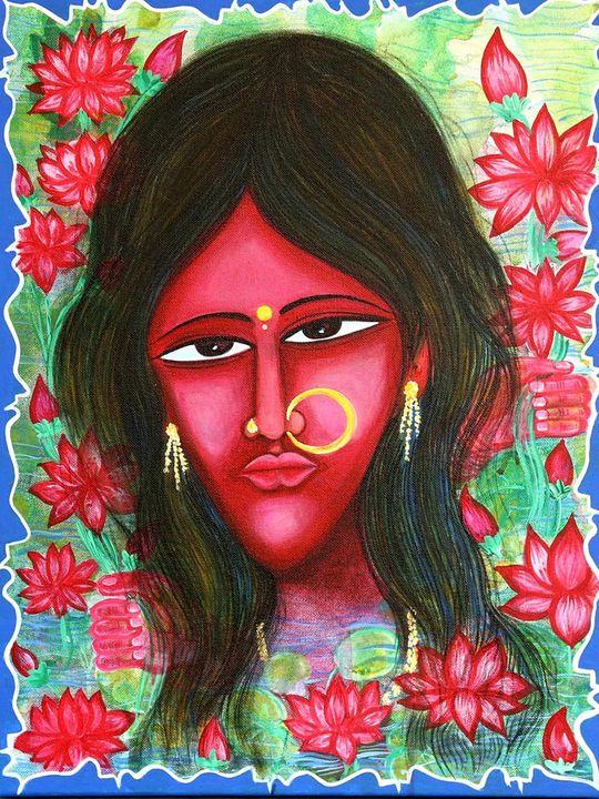 Figurative Girl - Sreedhar (seree)