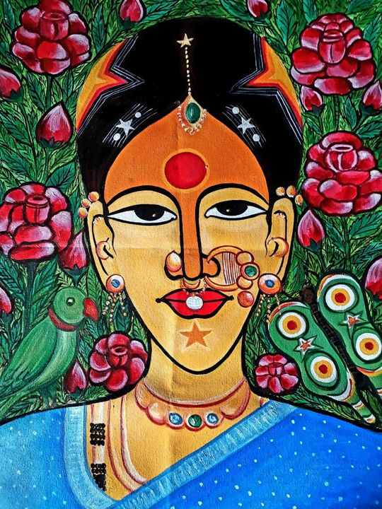 Figurative woman - Sreedhar (seree)