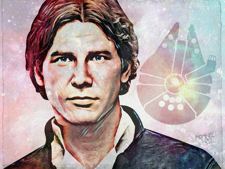 Han Galaxy - MOMINEE ART