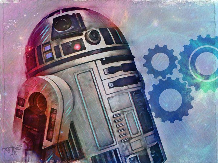 R2D2 Galaxy - MOMINEE ART
