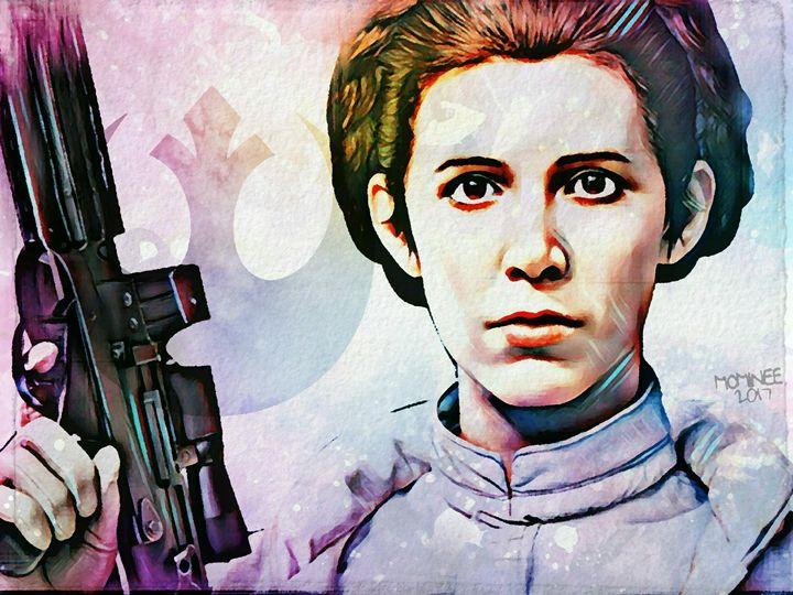 Leia Galaxy - MOMINEE ART