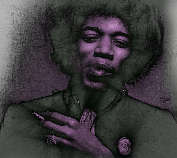 Purple Haze - MOMINEE ART